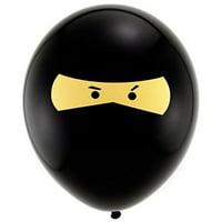 "betallic ninja 11"" latex balloons (10 pack)"