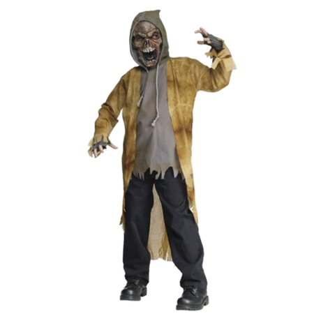 Fun World Boys Street Zombie Costume With Mask L (12-14) - Street Zombie Costume