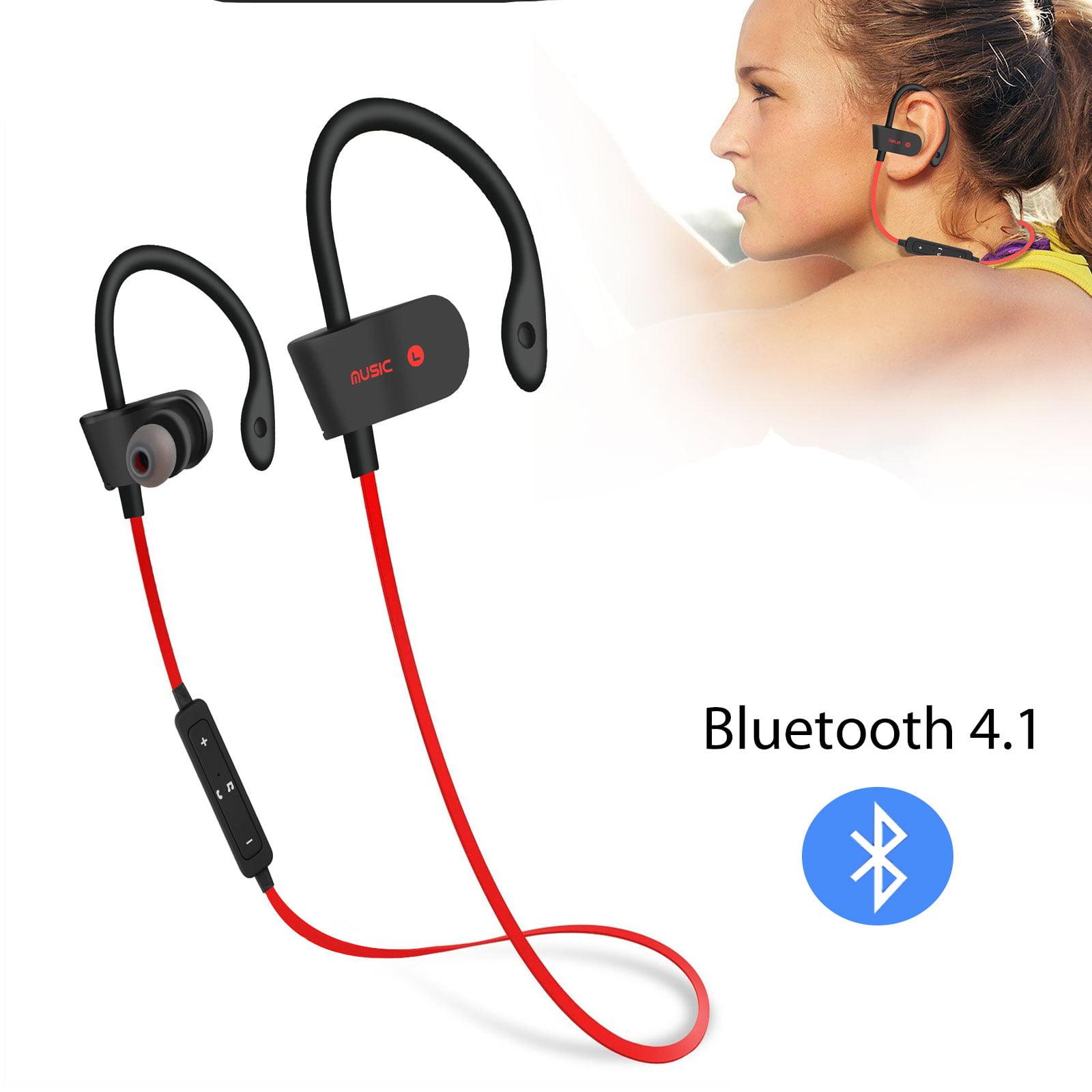 Wireless Bluetooth Earbuds, EEEKit Universal Wireless Bluetooth 4.1 Earphones HD Stereo In-Ear Headset Sport Neckband Headphone Hands-Free with Built-in Mic