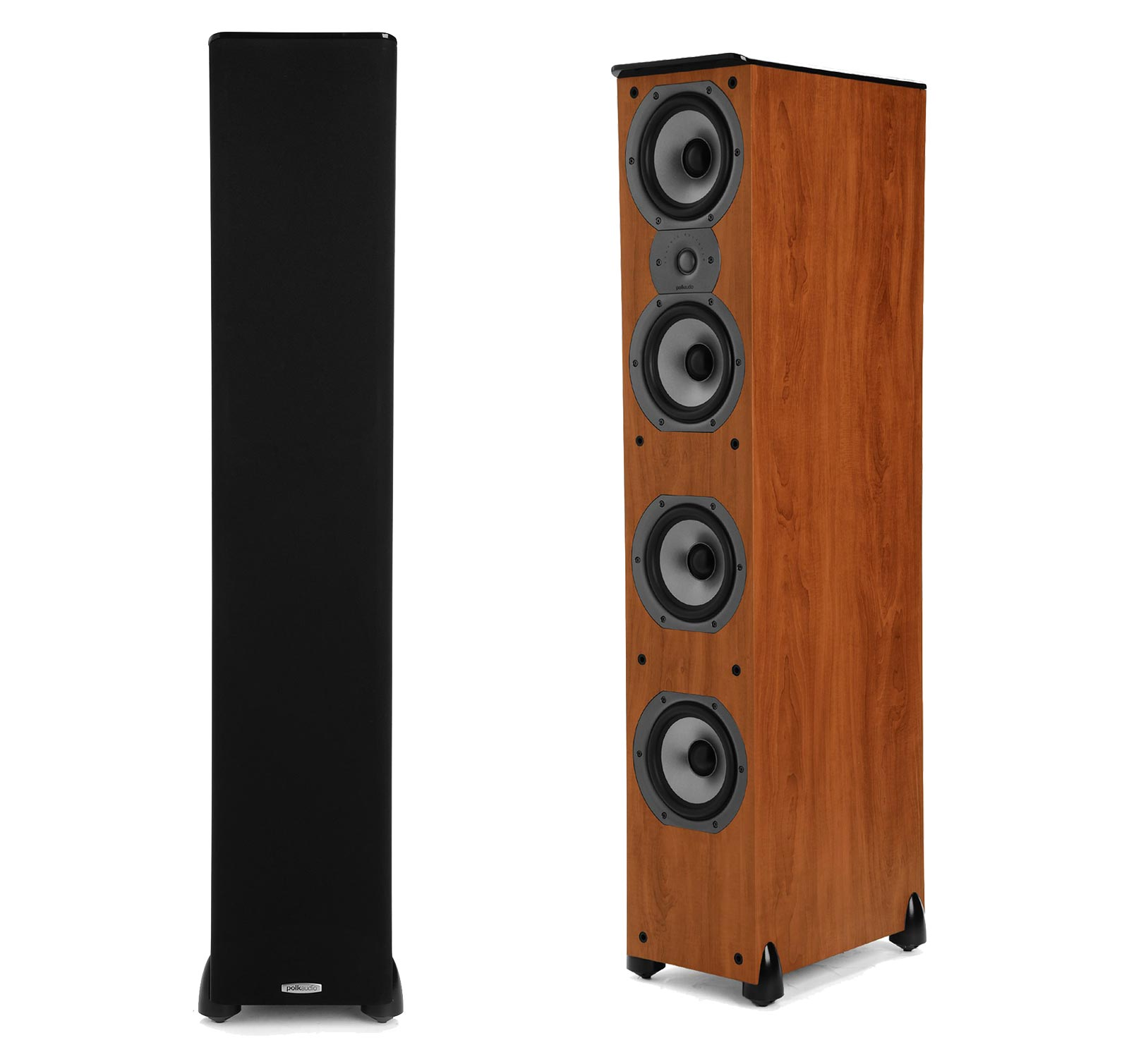 Polk Audio TSi 500 Cherry (Pair) Floorstanding Tower Speakers by Polk Audio