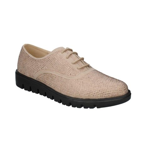 City Adventure Casual Oxford - Moca Oxford-16 Women's Casual Faux Suede Oxford, Beige 8.5 F US