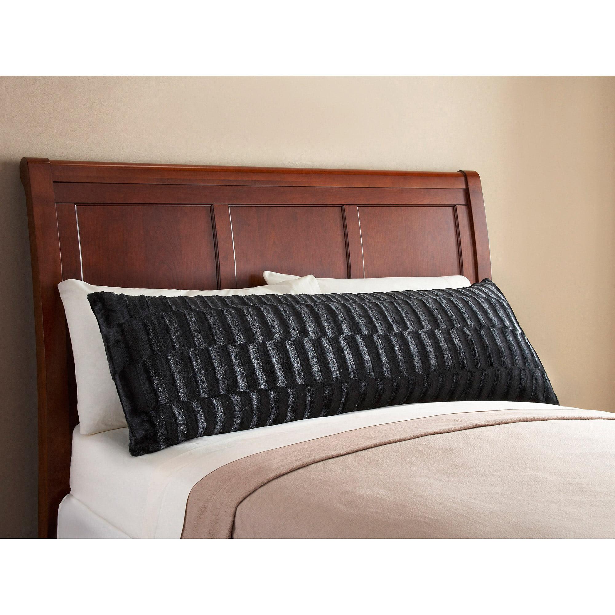 Mainstays Fur Body Pillow Cover - Walmart.com