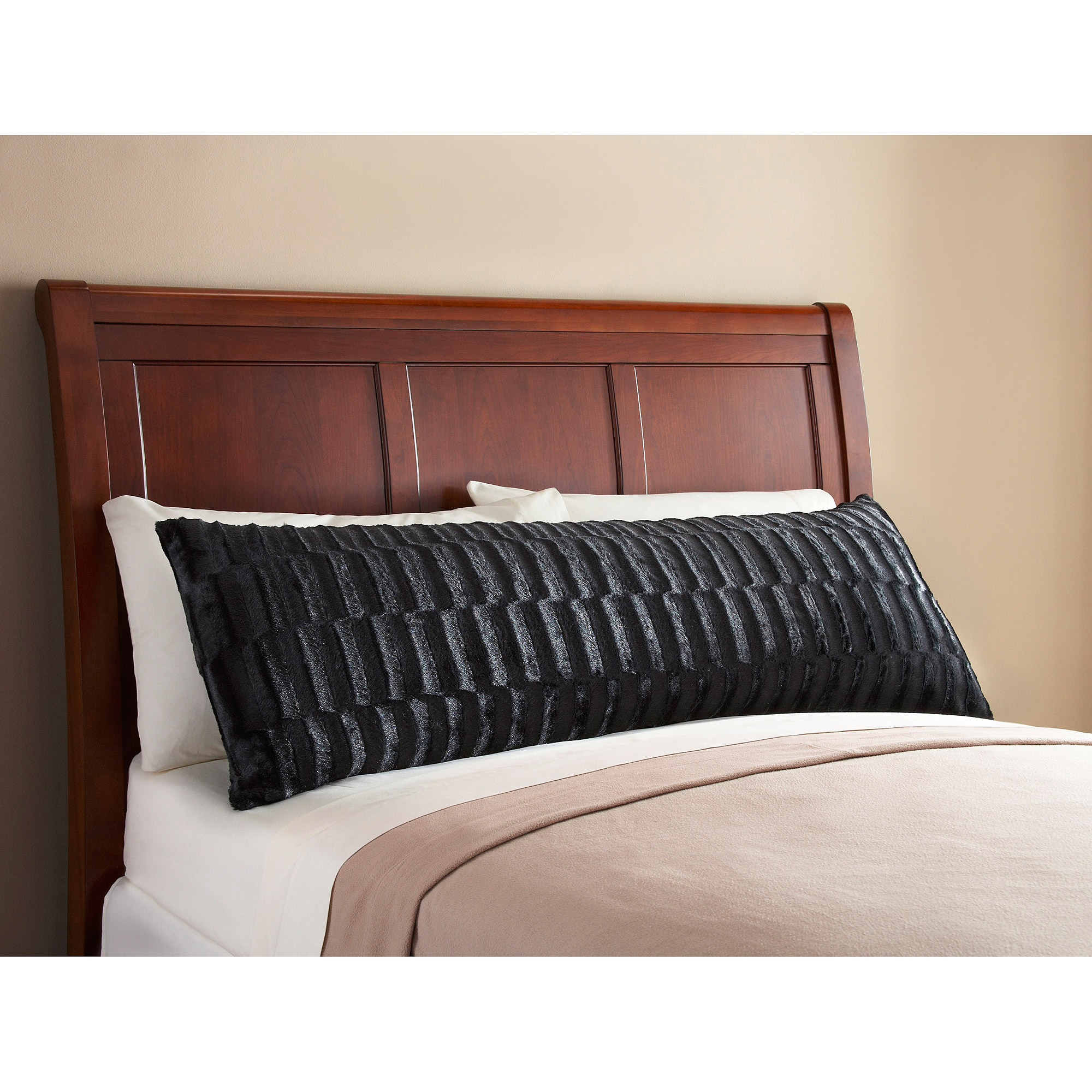 Mainstays Fur Body Pillow Cover