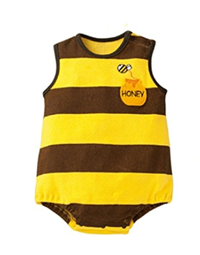 StylesILove Adorable Photo Prop Costume Baby Clothes (6-12 Months, Bumble Bee)