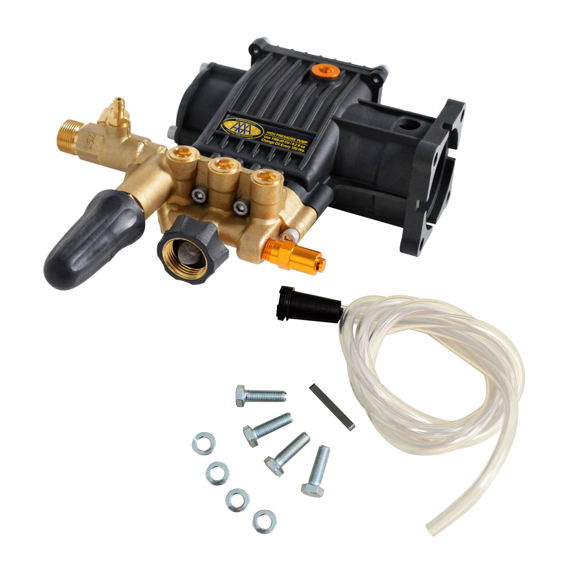 Simpson 90037 AAA Pro 3400 PSI 2.5 GPM Pressure Washer Triplex Plunger Pump Kit