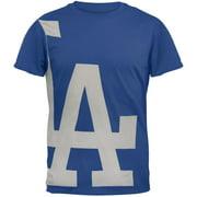Los Angeles Dodgers - Overgrown Logo Soft T-Shirt - Medium