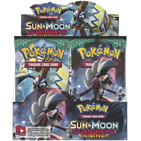 Pokemon Sun and Moon: Guardians Rising Booster Box,