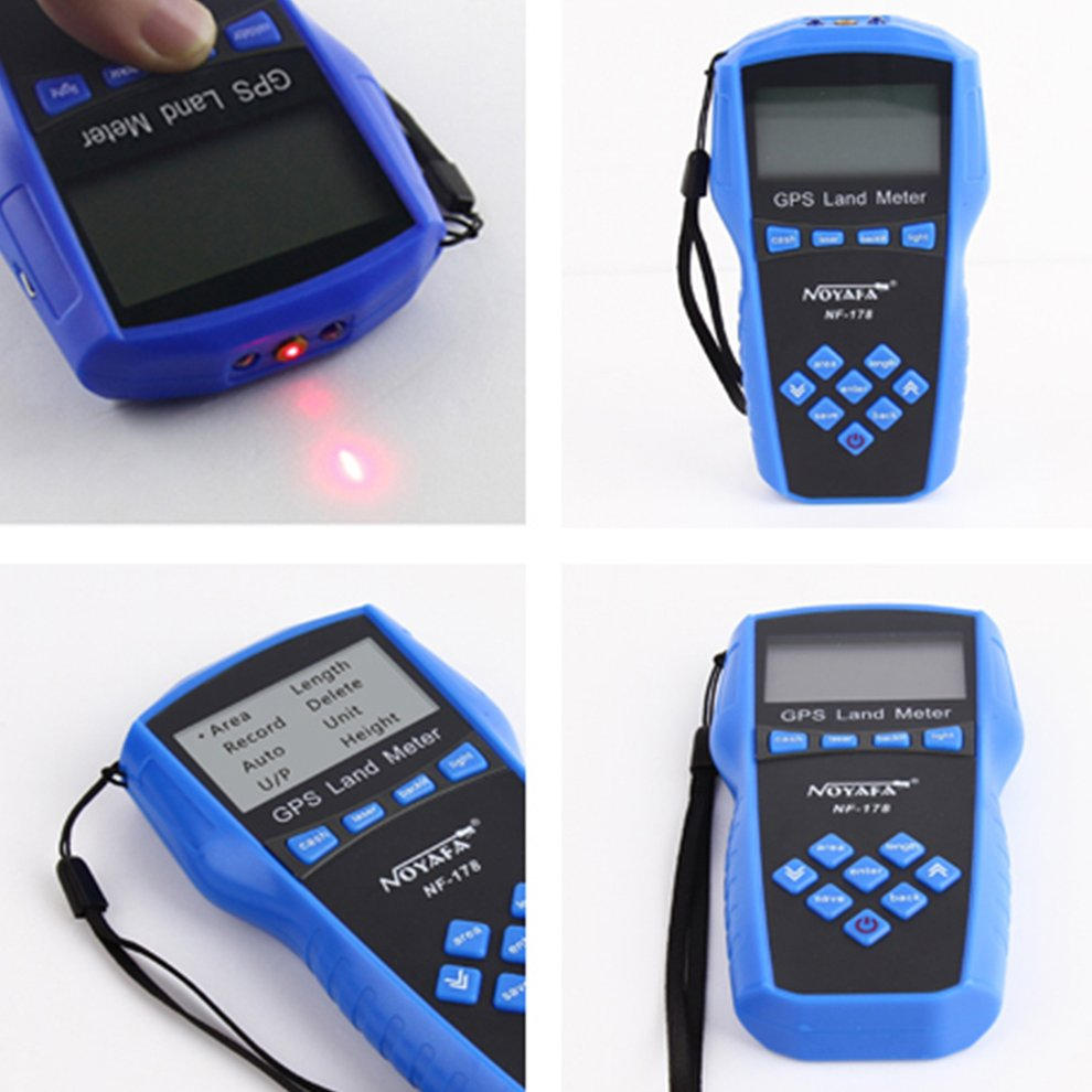 NF178 Land Meter LCD Screen Display GPS Test Devices Land Measuring Instrument by