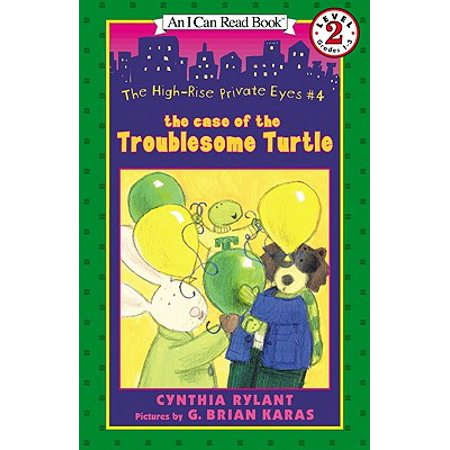 I Can Read Books: Level 2: The Case of the Troublesome Turtle (Hardcover) - Mr Turtle