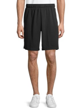 Athletic Works Men's Athletic French Terry Shorts, up to 3XL