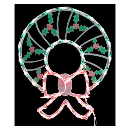 18 lighted wreath christmas window silhouette decoration for 16 lighted snowflake christmas window silhouette decoration