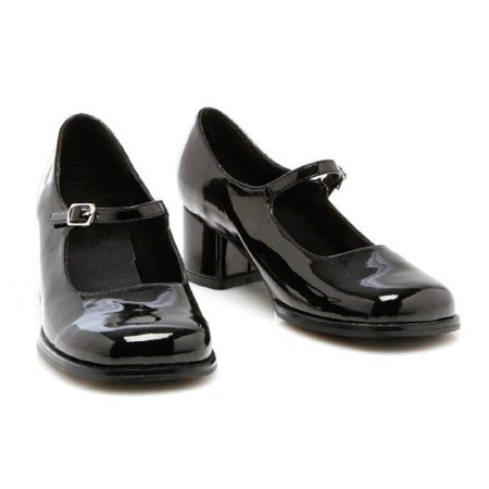 Eden (Black) Shoes Child Accessory Size Small (11-12) - 11-12 Halloween Costumes
