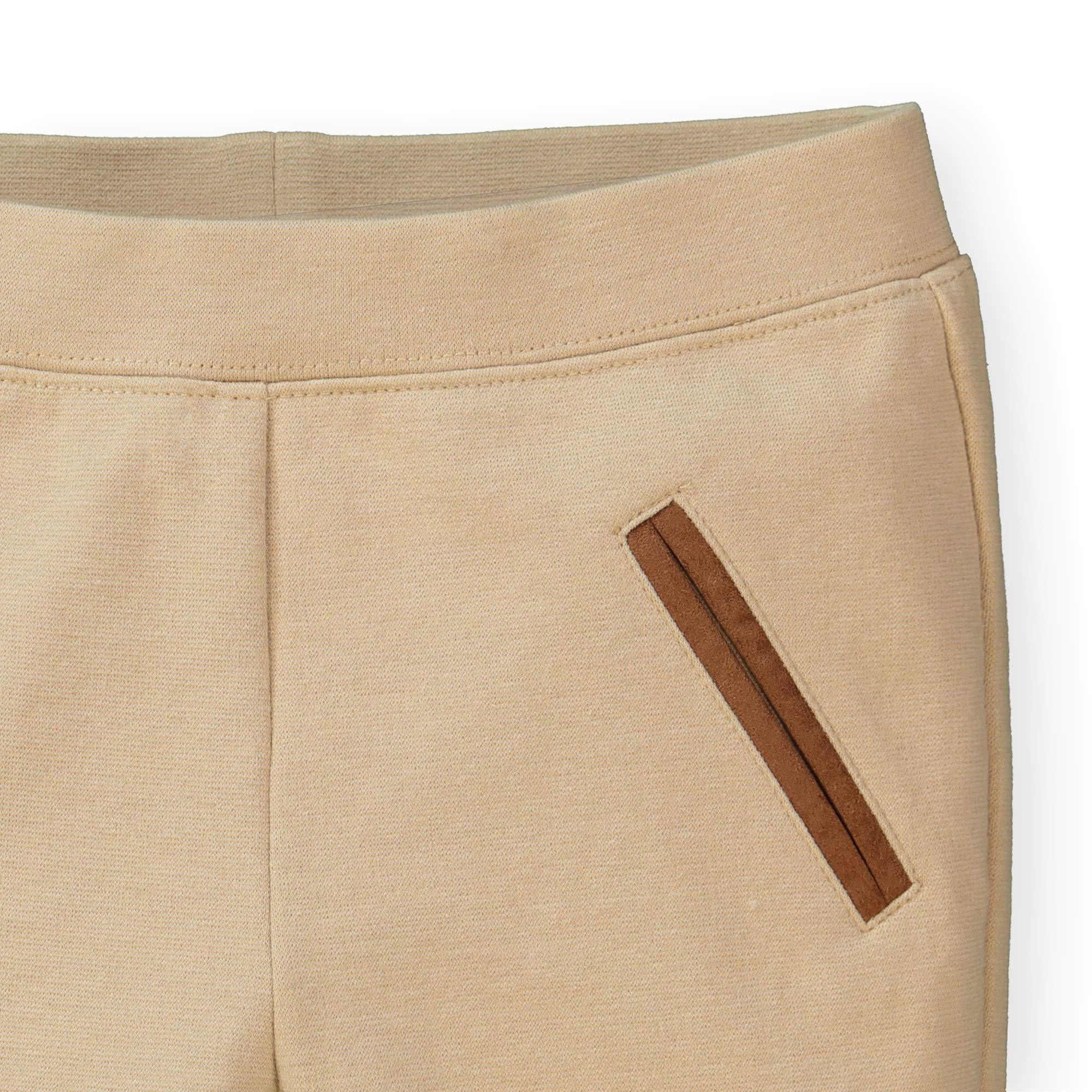 Hope /& Henry Girls Ponte Pants with Side Stripe