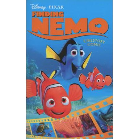 Disney/Pixar Finding Nemo Cinestory Comic (Is Peach From Finding Nemo A Girl)