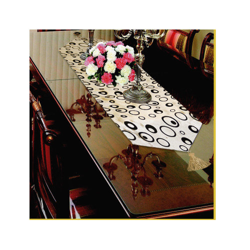 Violet Linen Silky Bombay Table Runner