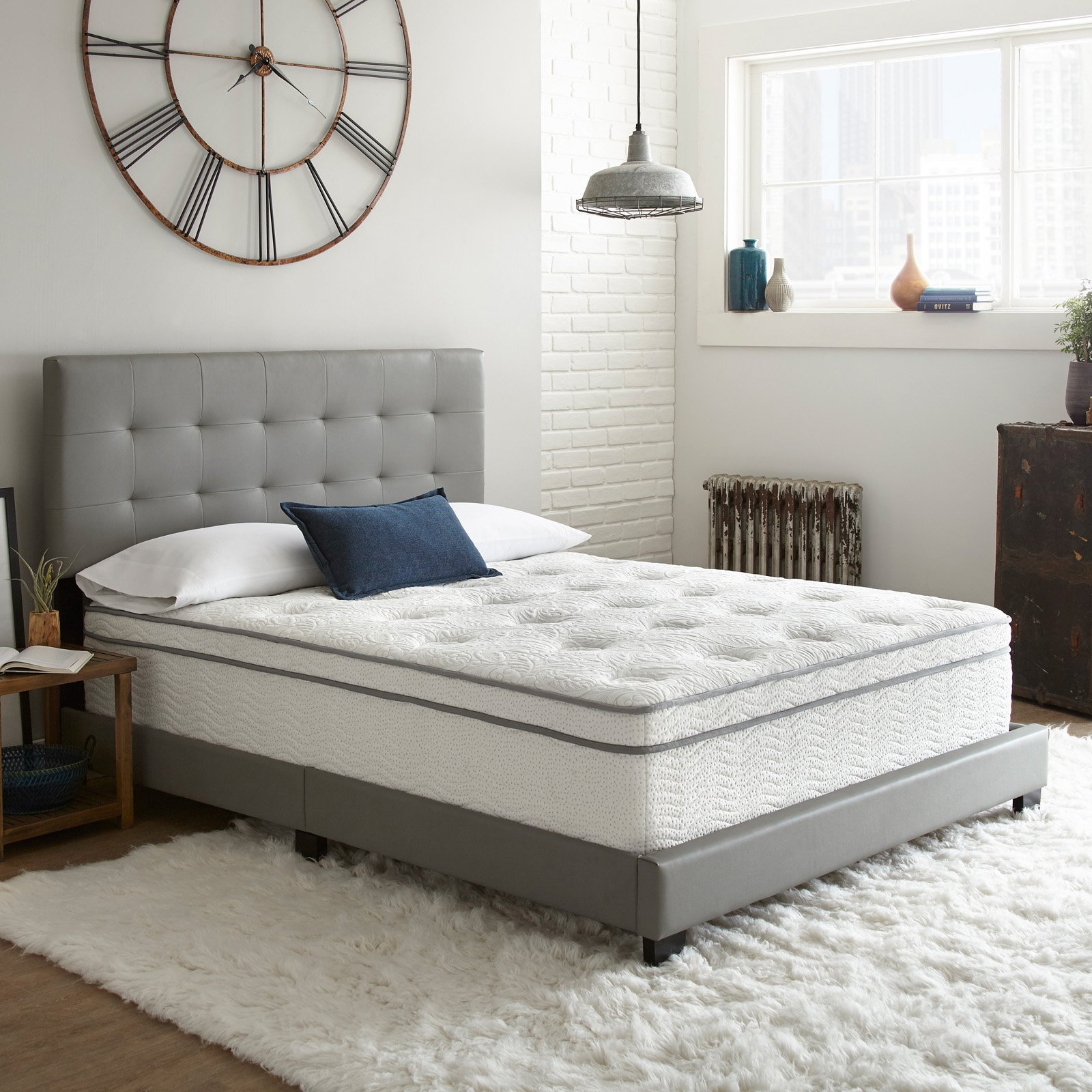 Pure Posture ComfortLux Supreme 14 in. Innerspring Hybrid Mattress
