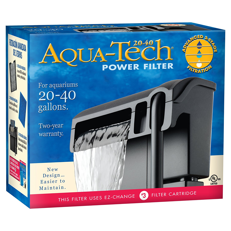 Aqua-Tech Power Aquarium Filter, Tube Fits Beautiful EcoFriendly Moss 26313 20403060 Filters Aquarium 675 EZChange 3Pack 10 4570Gallon 12 Head 15 TetraPond.., By AquaTech