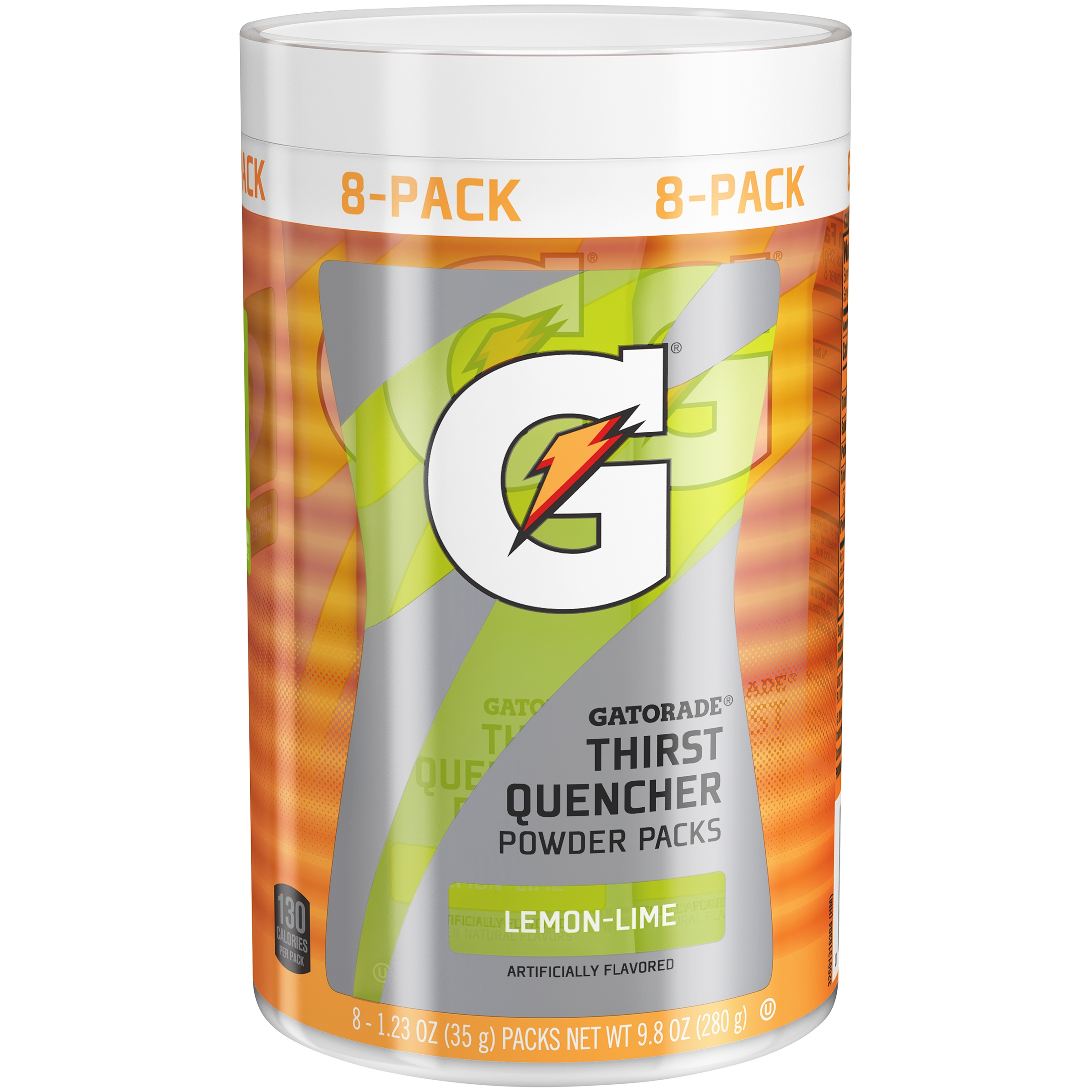 Gatorade® Lemon-Lime Thirst Quencher Powder Packs 8-1.23 ...