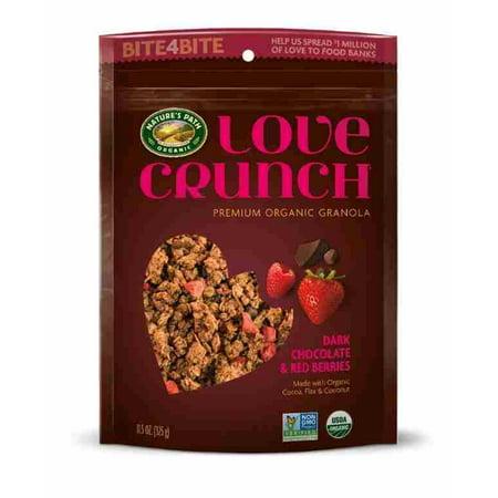 Chocolate Organic Granola (Love Crunch Organic Granola Dark Chocolate & Red Berries 11.5 Oz)