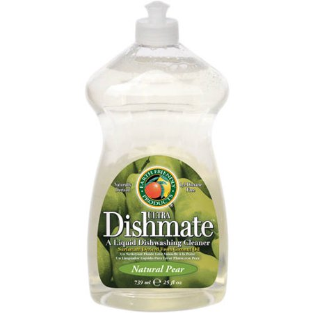 Earth Friendly Products Ultra Dishmate Natural Pear Liquid Dishwashing Cleaner  25 Fl Oz