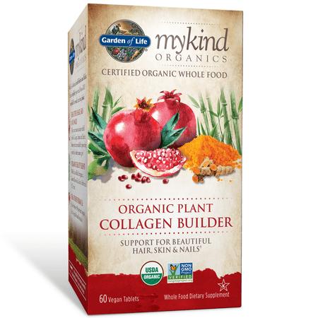 Garden of Life mykind Organics Organic Plant Collagen Builder 60 Tablets ()