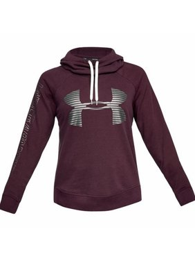 6fbb383244d451 Product Image Under Armour NEW Red Maroon Womens Large L Athletic Pullover  Logo Hoodie