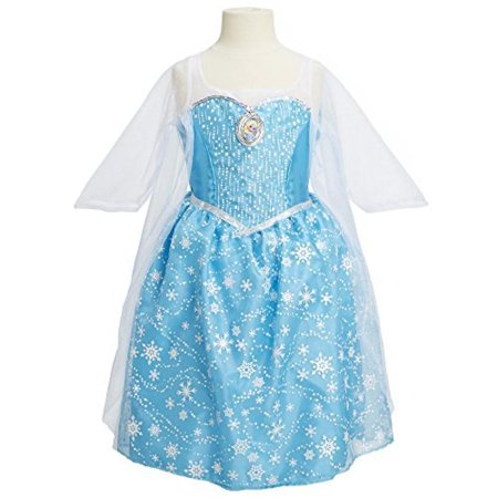 Disney Frozen Elsa Musical Light Up Dress Walmart Com