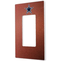 Dallas Cowboys Football Design Single Rocker Light Switch Plate - No Size