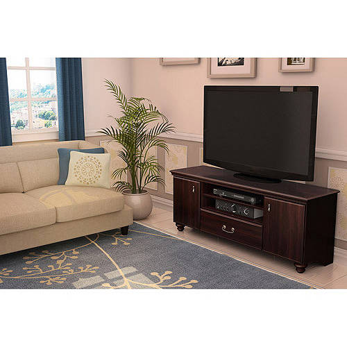 South Shore Noble Dark Mahogany TV Stand, for TVs up to 60""