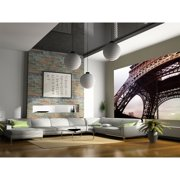 "Startonight Mural Wall Art Eiffel Tour de Paris Illuminated Abstract Wallpaper Photo 5 Stars Gift Large 10 x 28,82 '' x 50,4 '' Total 8'4""x 12'"