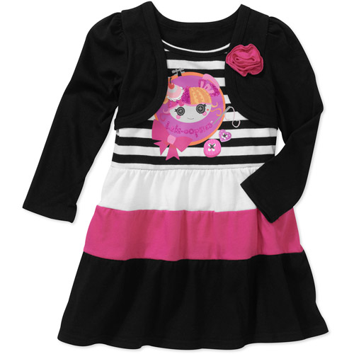 Baby Girls' Lalaloppsy Stripe Dress