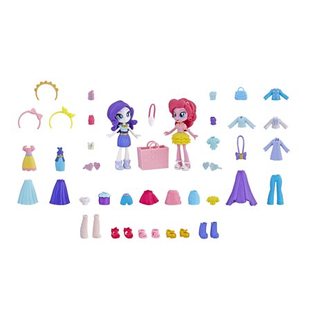 My Little Pony Equestria Girls Fashion Squad Rarity and Pinkie Pie