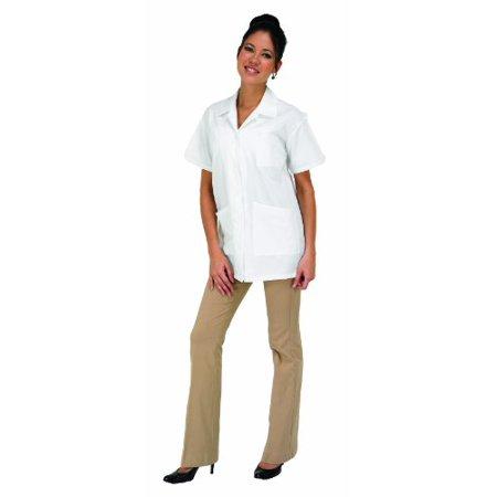 Betty Dain Professional Salon Esthetician / Lab Jacket, White, XL Betty Dain Estheticians Jacket