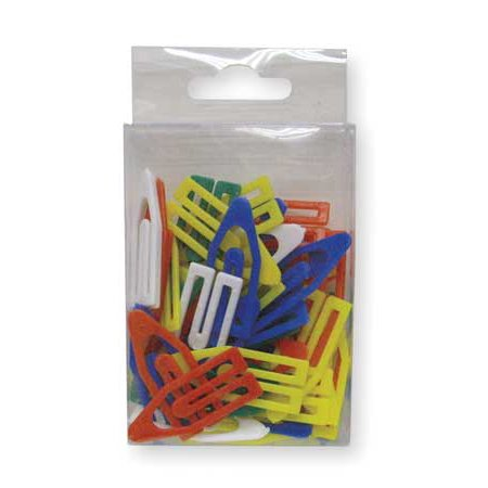 2WFU8 1 1/2In Paper Clip, Asrt - Pack of -