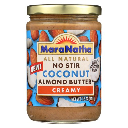 Almond Coconut Butter - Maranatha Natural Foods Coconut Almond Butter - Creamy - No Stir - Pack of 6 - 12 Oz