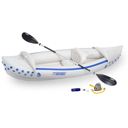 Sea Eagle Inflatable Sports Kayak Deluxe Solo (Best Sea Kayak Reviews)