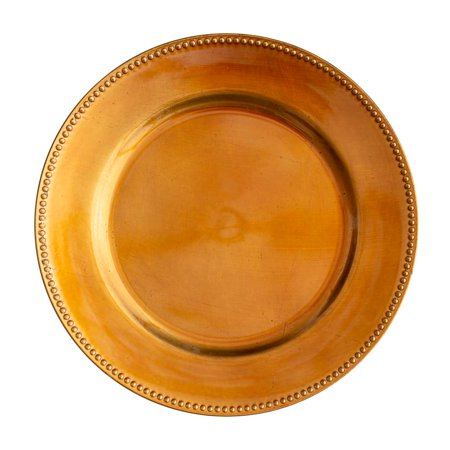 Copper Charger Plates (Richland Beaded Charger Plate 13