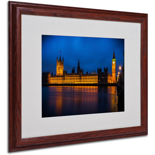 "Trademark Fine Art ""The Classic"" by Giuseppe Torre, Wood Frame"