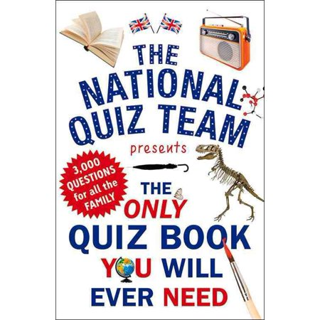 The Only Quiz Book You Will Ever Need - Halloween Quiz Print