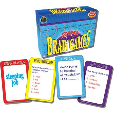 200 BRAIN GAMES GAME (Brain Teasing Games)