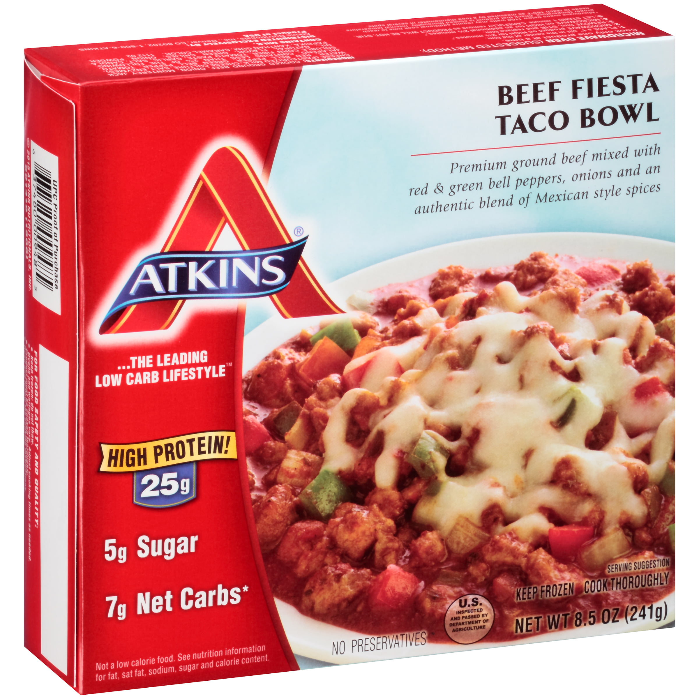 Exceptional Atkins High Protein Shrimp Scampi, 9.0 OZ