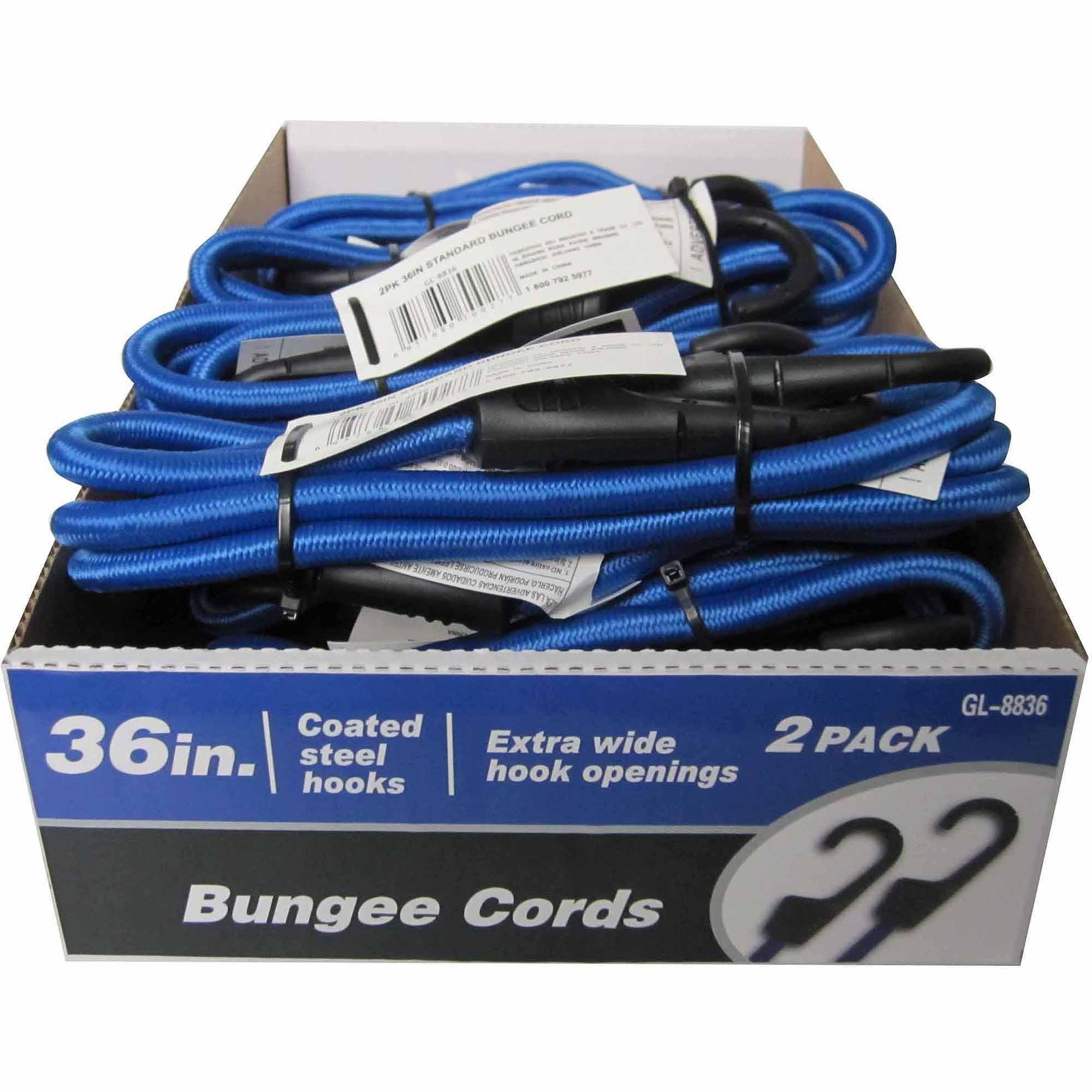 "36"" Standard Bungee Cord, 2 Pack"