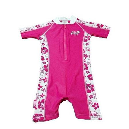 Banz BZ14-S1-RP-000 Baby Swimsuit, Pink Floral - Size 000 (Baby Banz Australien)
