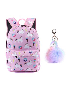 Product Image Unicorn Backpack Lightweight Kids School Preschool Travel  Backpack for Girls with Free Unicorn Headbands or Unicorn 0e3273f29e739
