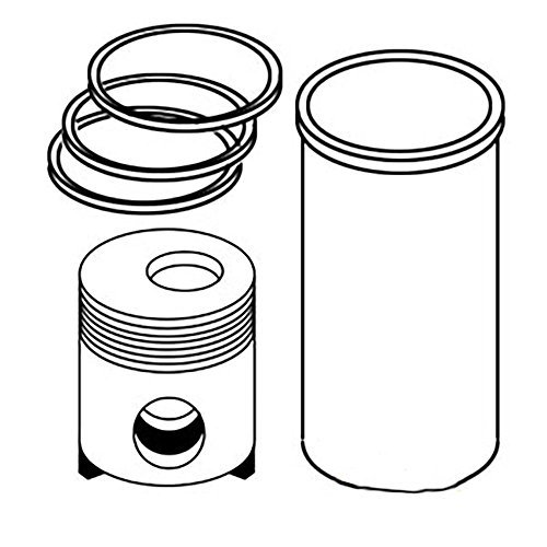 Ar100646 New Aftermarket Piston Liner Kit Made To Fit John Deere