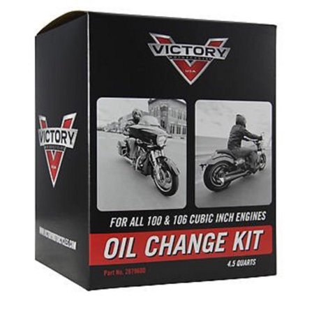 Electronic Motor Action Kit - Victory OEM Oil Change Kit for 100 & 106 Cubic Inch Motor Engine 2879600