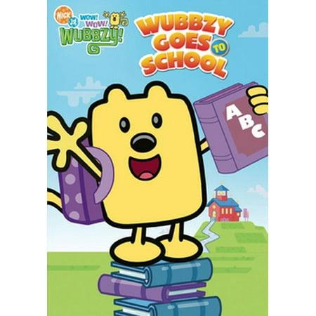 Wow Wow Wubbzy: Wubbzy Goes to School (DVD) - Halloween Songs Wubbzy