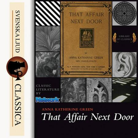 That Affair Next Door (Unabridged) - Audiobook