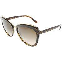 45bb61b59fb Product Image Dolce   Gabbana Women s Gradient DG4304-502 13-57 Brown  Butterfly Sunglasses