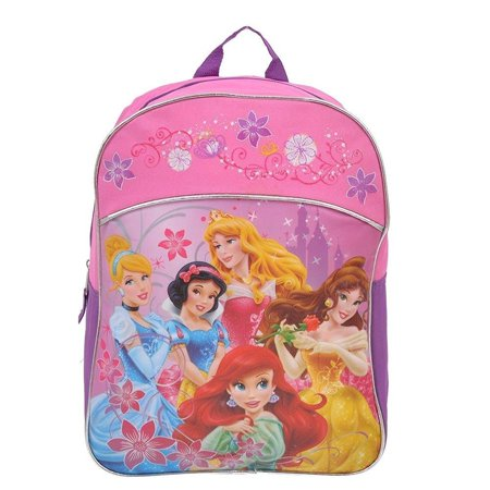 Princess Kids Backpack 15 Inch School Bag - Princess Kids Backpack